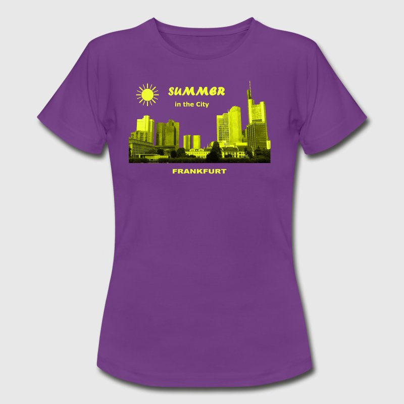 Summer in the City Frankfurt am Main - Frauen T-Shirt
