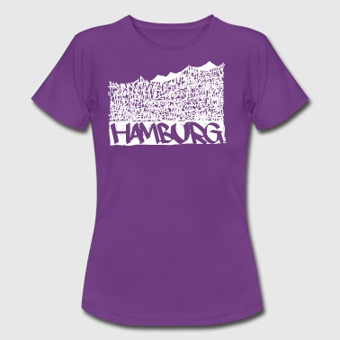 Hamburg Music Hall - White - Frauen T-Shirt