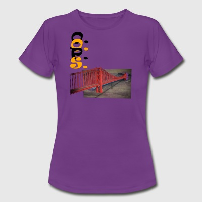 Golden gate - Women's T-Shirt