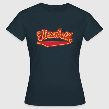 Elizabeth - T-shirt Personalised with your name - Women's T-Shirt
