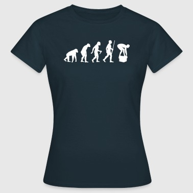 Swimming Evolution - T-shirt Femme