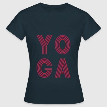 yoga - Frauen T-Shirt