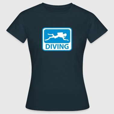 Diving - Frauen T-Shirt