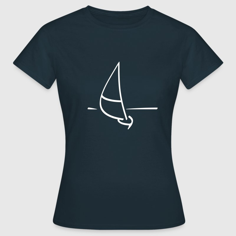 Navy Sailing ship Women's T-Shirts - Women's T-Shirt