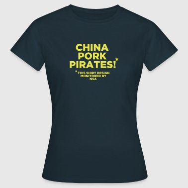 China Pork Pirates - Frauen T-Shirt