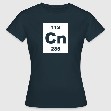 Copernicium (Cn) (element 112) - Women's T-Shirt