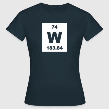 Tungsten (W) (element 74) - Women's T-Shirt