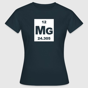 Magnesium (Mg) (element 12) - Women's T-Shirt