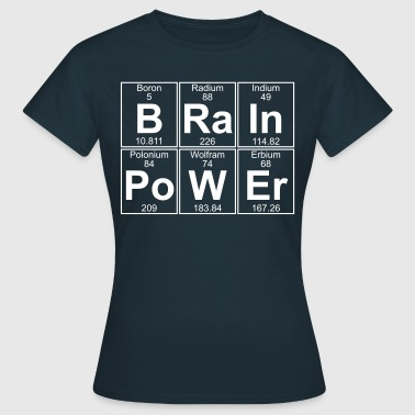 B-Ra-In-Po-W-Er (Intelligenz) - Full - Frauen T-Shirt