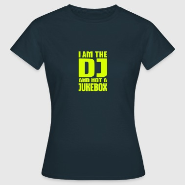 DJ Jukebox - Frauen T-Shirt