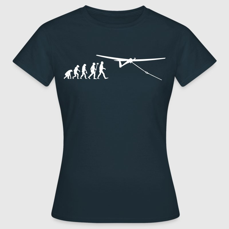 evolution gliding glider pilot - Women's T-Shirt