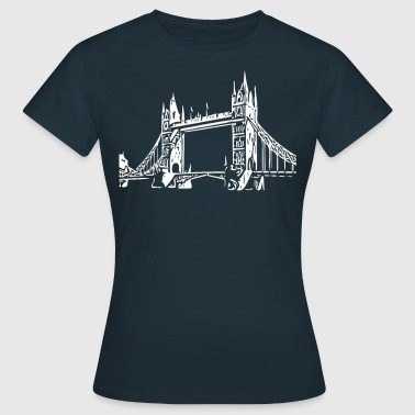 Tower Bridge Tower Bridge - Frauen T-Shirt