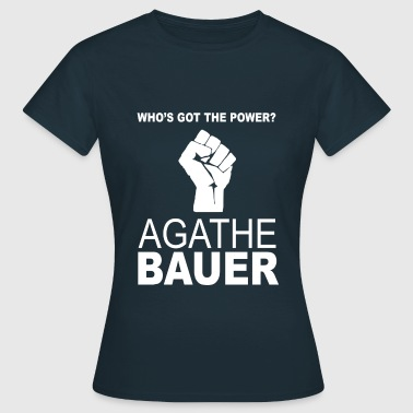 WHO'S GOT THE POWER? - Frauen T-Shirt