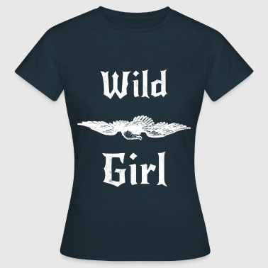 Wild Girl Adler  - Frauen T-Shirt