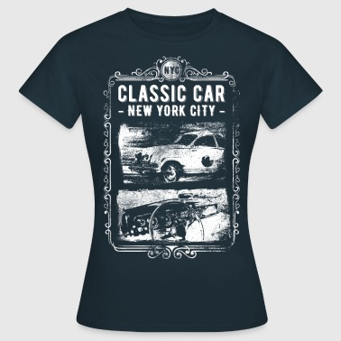 CLASSIC CAR - NYC #1 - Frauen T-Shirt