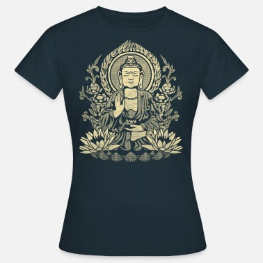 Gautama Buddha Yellow - Women's T-Shirt