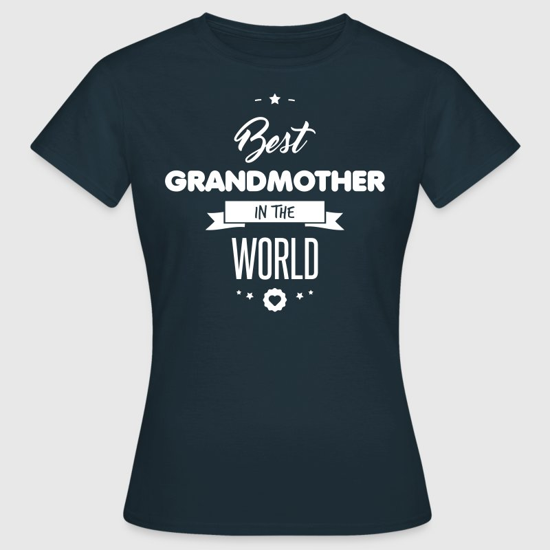 BEST GRANDMOTHER - Women's T-Shirt