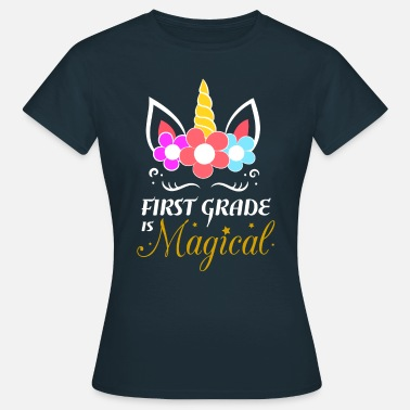 First Grade Unicorn First Grade Gift - Women's T-Shirt
