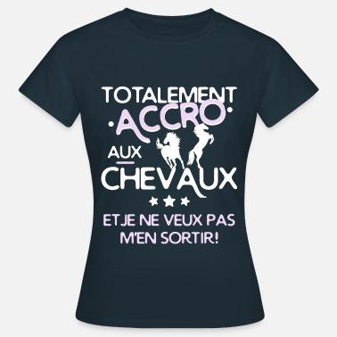 T Shirts Cheval A Commander En Ligne Spreadshirt