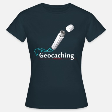 Knifflig Geocaching Microcache Tampon - Frauen T-Shirt