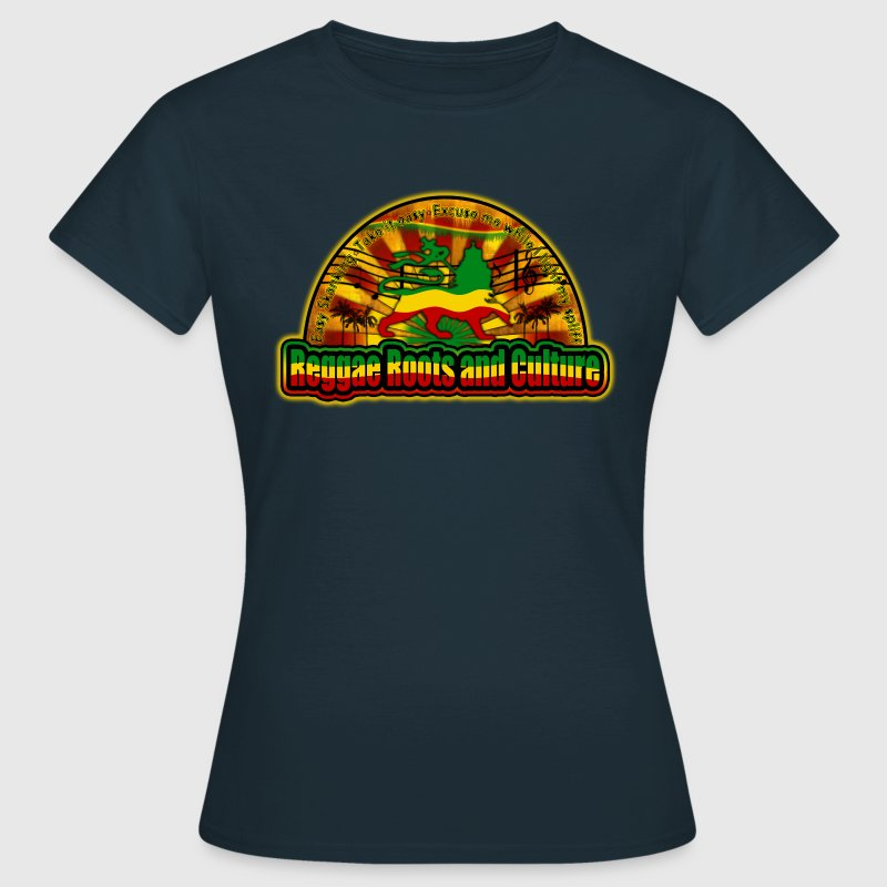 reggae roots and culture easy skanking - Women's T-Shirt