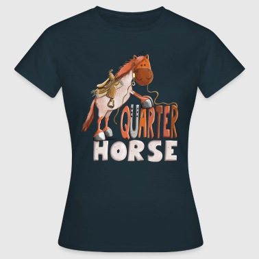 Happy Quarter Horse Strawberry - T-shirt Femme