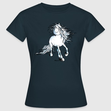 White Beauty - Andalusiër- Paard - Vrouwen T-shirt