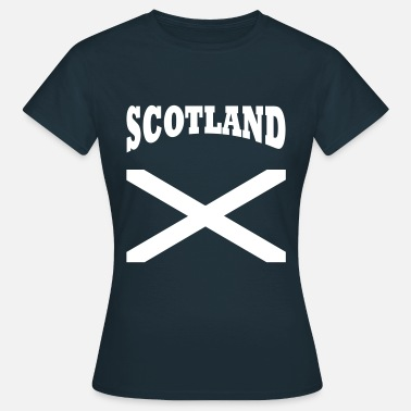 Scotland Sport Scotland + cross - Women's T-Shirt