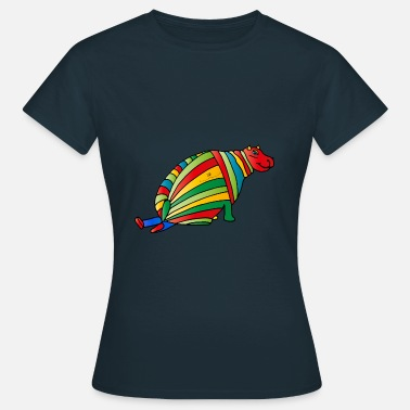 Midday Hippo - Women's T-Shirt
