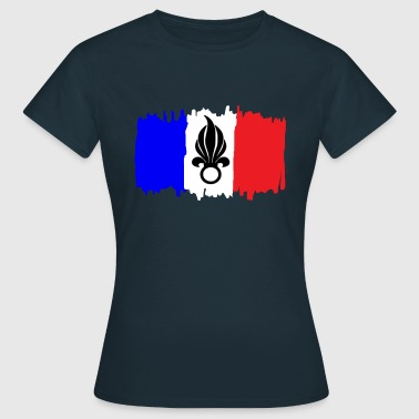 Foreign Legion Foreign Legion - Flag of France Coat of Arms - Women's T-Shirt