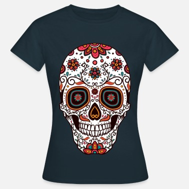 Mexico Day Of The Dead Day of the dead festivity. - Women's T-Shirt