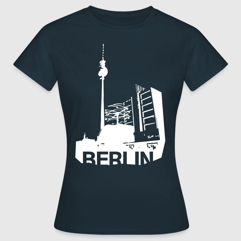 Alexanderplatz in Berlin - Frauen T-Shirt
