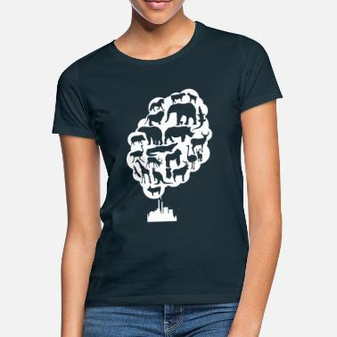 Pollution environmental pollution - Women's T-Shirt