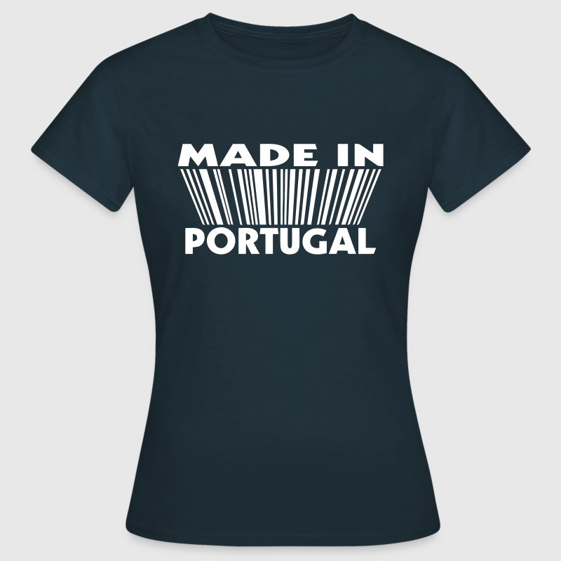 Made in portugal 3D code - Women's T-Shirt