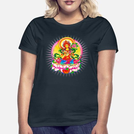 118a7068f353 Clothing Clothing, Shoes & Jewelry Hands Of Tibet Handmade Mens V-Neck T- Shirt Ganesh Design