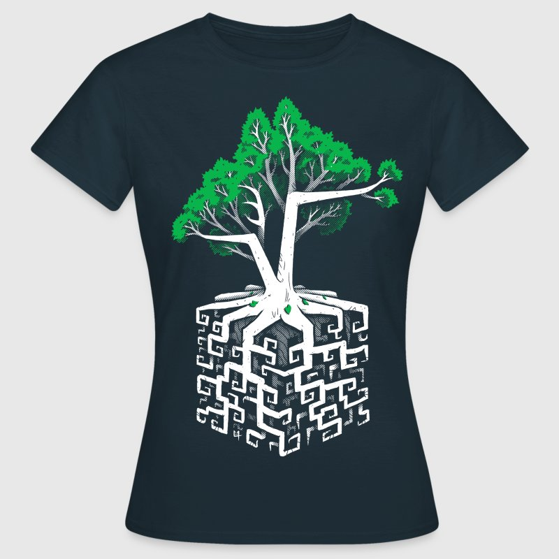 Cube Root - Women's T-Shirt