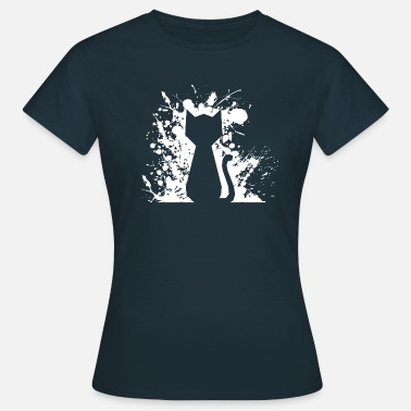 Chat Coquin Silhouette de chat coquine - T-shirt Femme