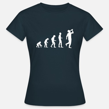 Horny Stag Night Party Drinking evolution - Women's T-Shirt