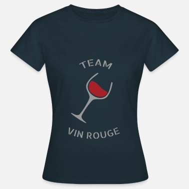 Red Wine Team Red Wine - T-shirt - Maglietta da donna