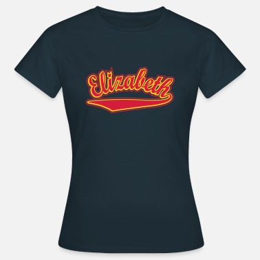 Elizabeth Name Elizabeth - T-shirt Personalised with your name - Women's T-Shirt