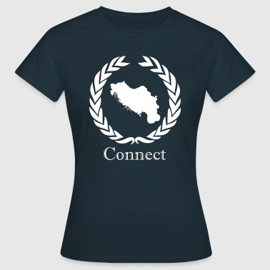 Connect CONNECT Collektion LMTD. WHITE EDITION - Dame-T-shirt