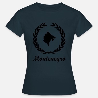 Jugoslawien Connect ExYu Shirt Montenegro - Frauen T-Shirt