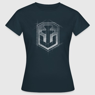 World Of Warships Logo Anker Grafisch - Frauen T-Shirt