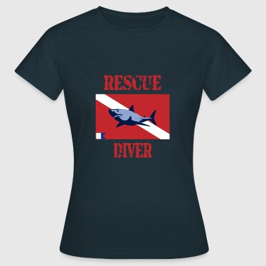 Rescue Diver  - Women's T-Shirt