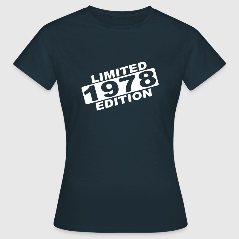 jaar 1978 limited edition - Vrouwen T-shirt