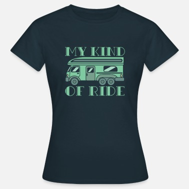 Knight Rider My Kind Of Ride Vanlife T-Shirt Geschenkidee - Frauen T-Shirt