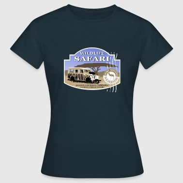 Landrover - Jeep -  Safari - Afrika - Frauen T-Shirt