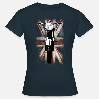 Bsa Vintage Motor Cycle BSA feature patjila - Women's T-Shirt