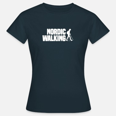 Sports Marche nordique Sport Endurance Fitness Outdoor - T-shirt Femme