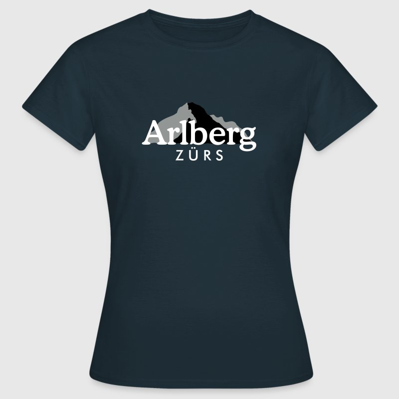 Zürs am Arlberg - Frauen T-Shirt